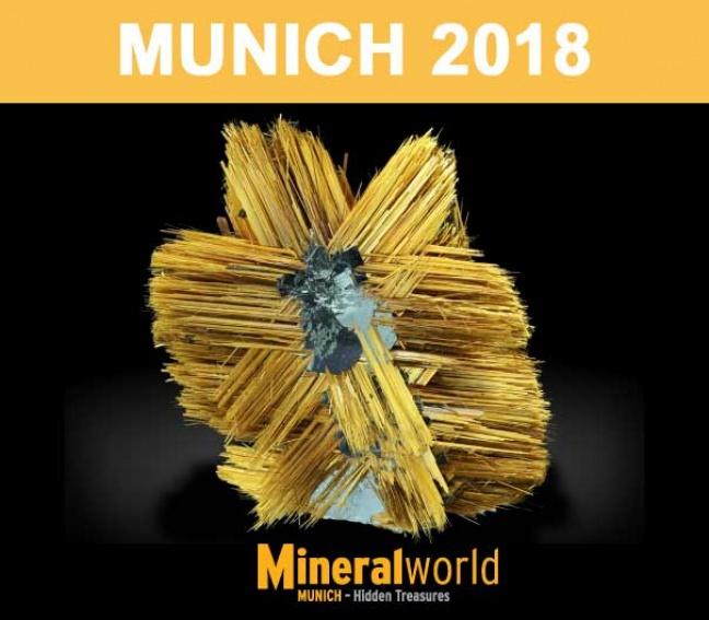 Munich Show 2018 - Mineralientage Munich è ora!